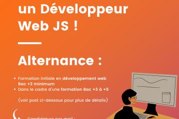 Opteamum recrute un Développeur Web JS !
